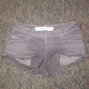 Pants - Low rise lavender shorts